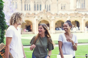 Boom influx of international students